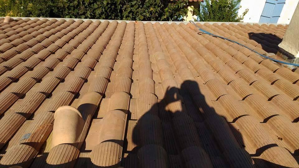 Démousser votre toiture sur Montpellier dans l'Hérault 34 - JLS EXPERT